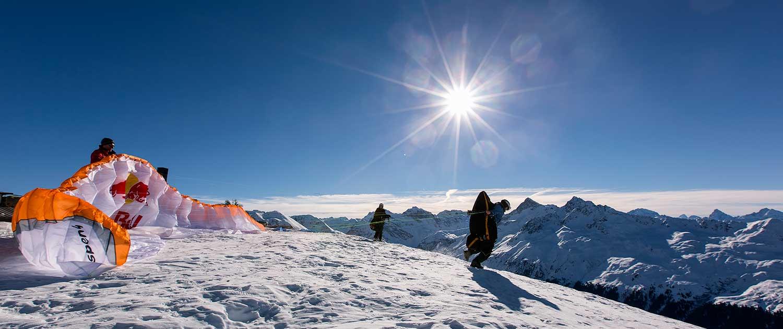Gleitschirm-Startplatz Jatzhütte Davos