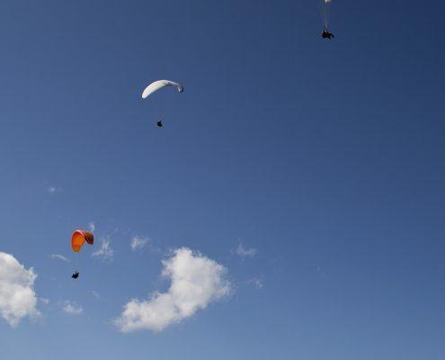 Gleitschirm Thermikflug: Fliege hoch hinaus in Davos