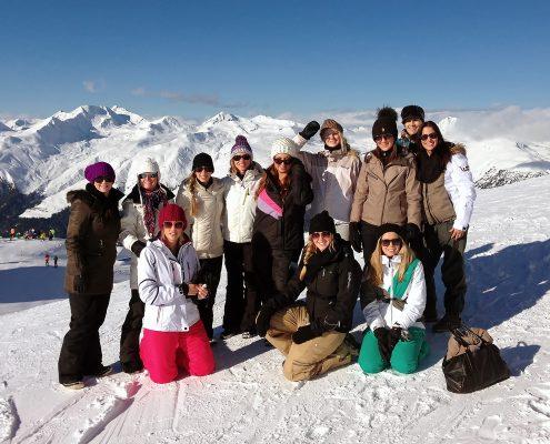 Gruppen-Event während des Spengler-Cups in Davos