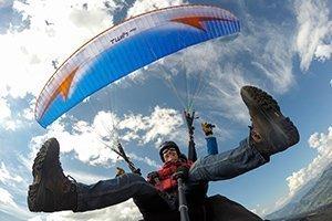Gleitschirm Tandem fliegen unlimited - Einen ganzen Tag lang von der ersten bis zur letzten Bahn