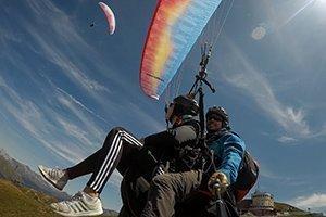 Paragliding Flug für 2