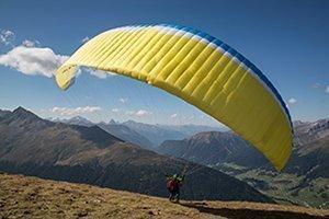 Panoramaflug: Tandemflug hoch über Davos (1'000 Höhenmeter über Davos)