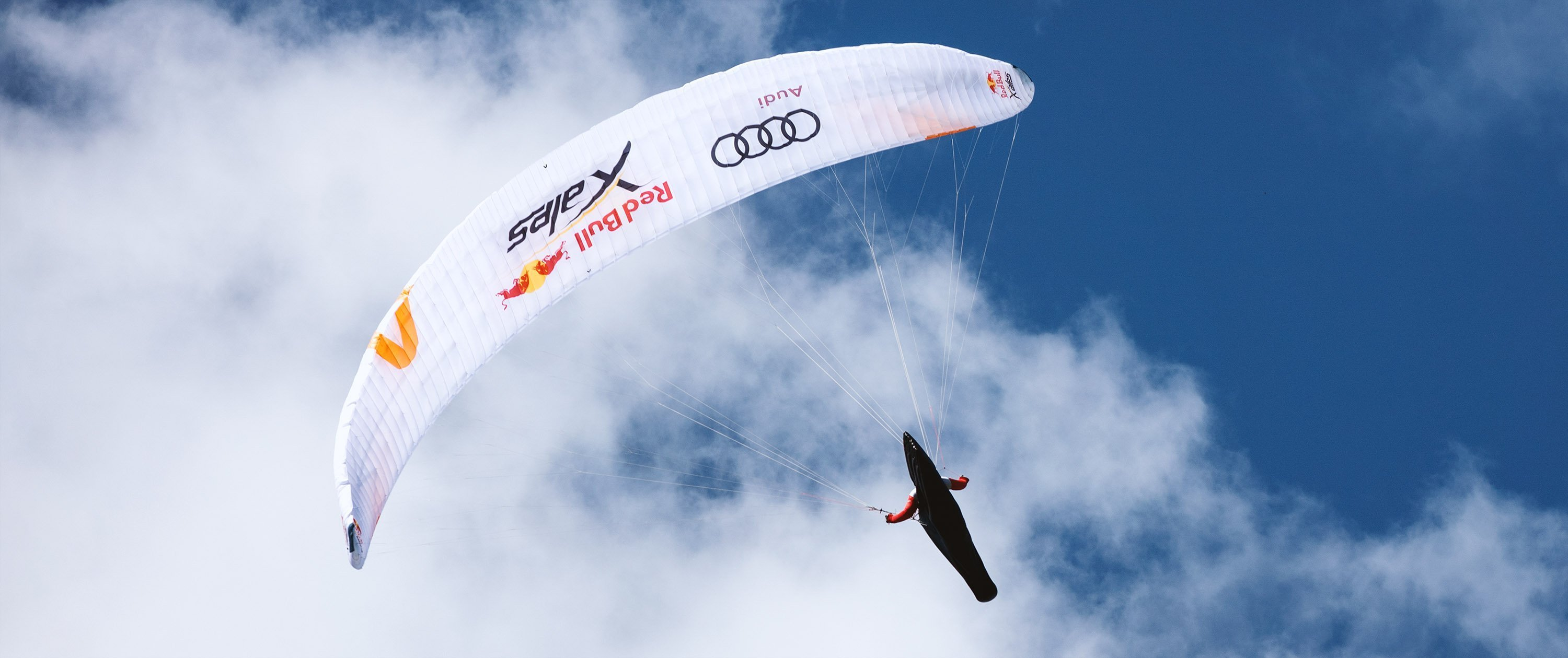 Red Bull X-Alps 2019 preparations in Davos. Adrian Keller (Team Switzerland 3) with his Skywalk X-Alps 4 paraglider.