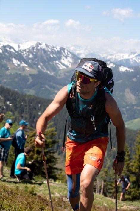 Red Bull X-Alps 2019 Prolog Grießenkareck Aaron Durogati kurz vor dem Ziel