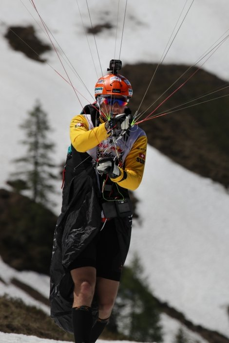 Red Bull X-Alps 2019 Prolog in Wagrain: Chrigel Maurer (Team SUI1)