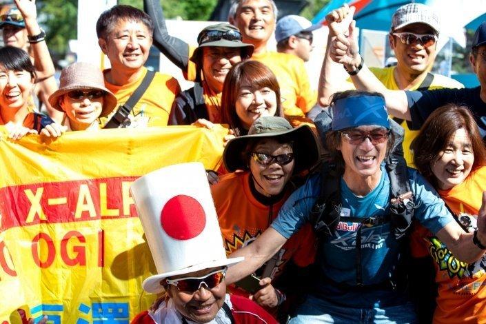Red Bull X-Alps 2019 Prolog Kaoru Ogisawa Supporters