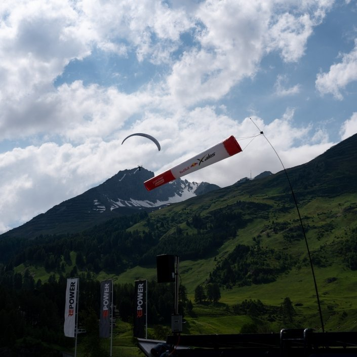 Red Bull X-Alps 2019 Paragliding Turnpoint Area Davosersee