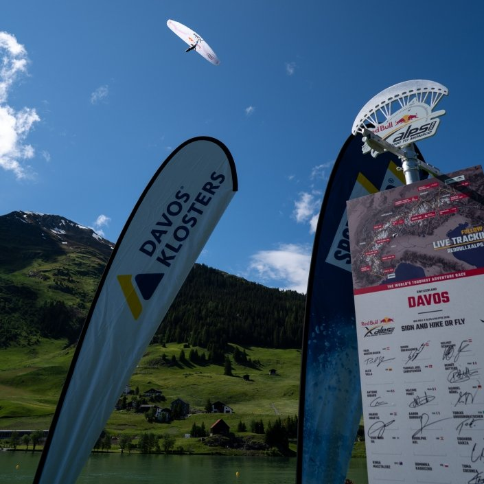 Red Bull X-Alps 2019 Turnpoint Davos