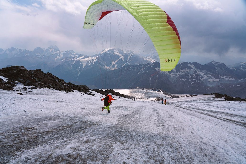 Hike And Fly Elbrus: Akklimatisierung Gleitschirm Gin Calypso