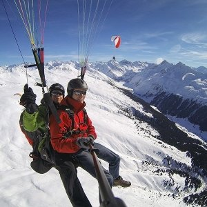 Paragliding All Day in Davos