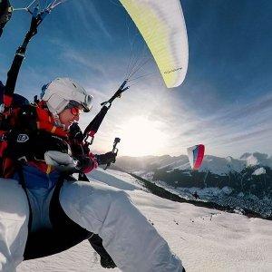 Air-Davos Paragliding Flug für 2 Pärchenflug