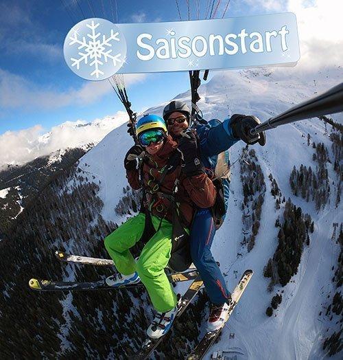 Saisonstart Paragliding Wintersaison 2019/2020