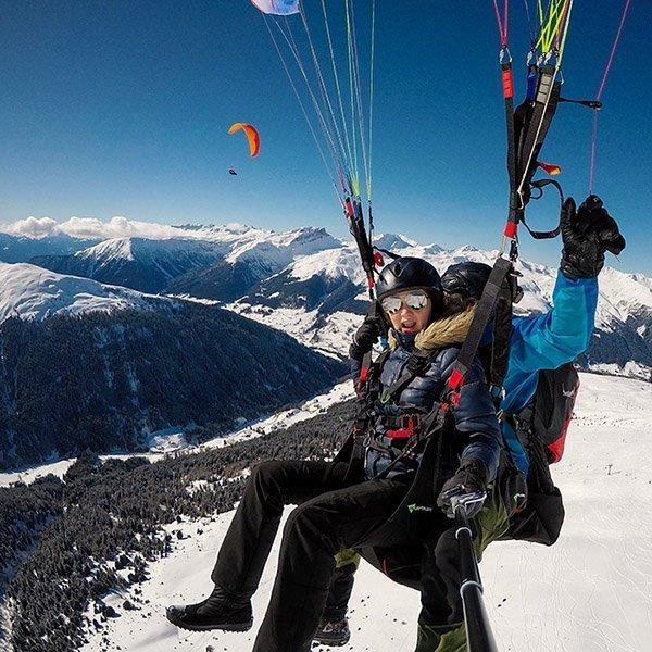 Weitere Paragliding Flüge Davos