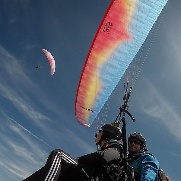 Paragliding Flight for 2 in Davos Klosters