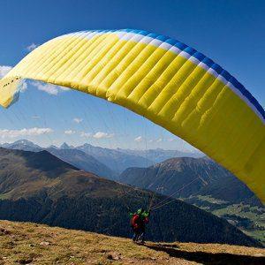 Paragliding Panoramic Flight Davos