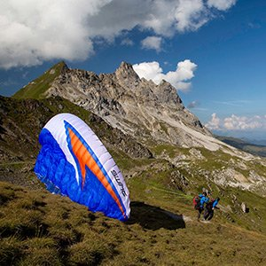 Flugbeschreibung Paragliding-Sommmer Panoramaflug Early Bird Klosters