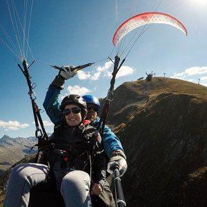 Davos Klosters Paragliding Sonstige Flüge