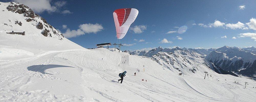 Paragliding-Startplatz Madrisa Schaffürggli